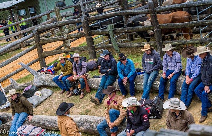 Rodeo competitors WA
