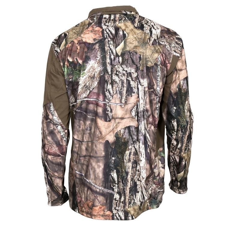rocky silent hunter zip shirt